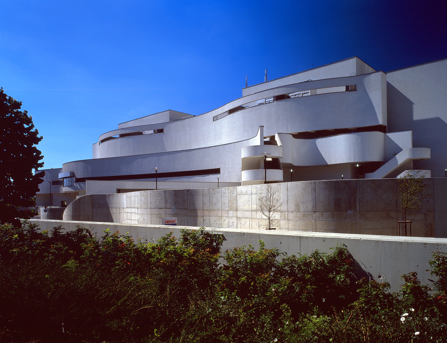 Harry Seidler Amp Associates Wohnpark Neue Donau
