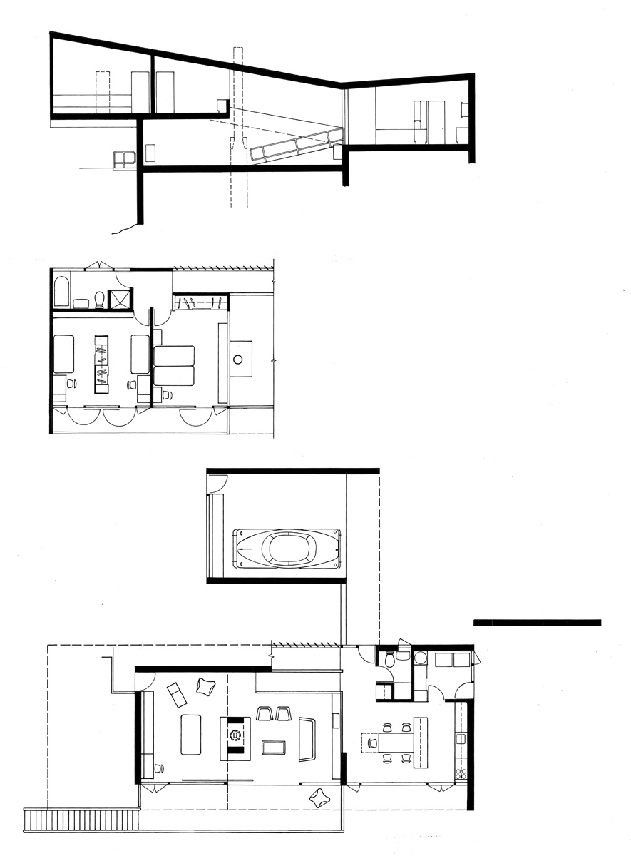 Rose seidler house site plan escortsea for House site plan