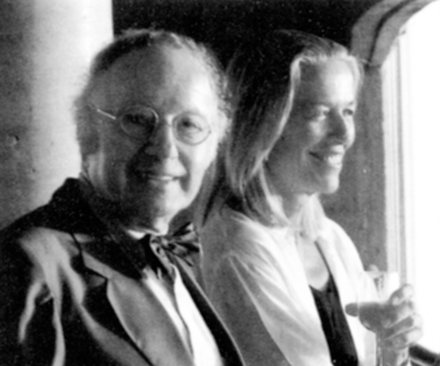 With Lin Utzon, Sydney, 1994
