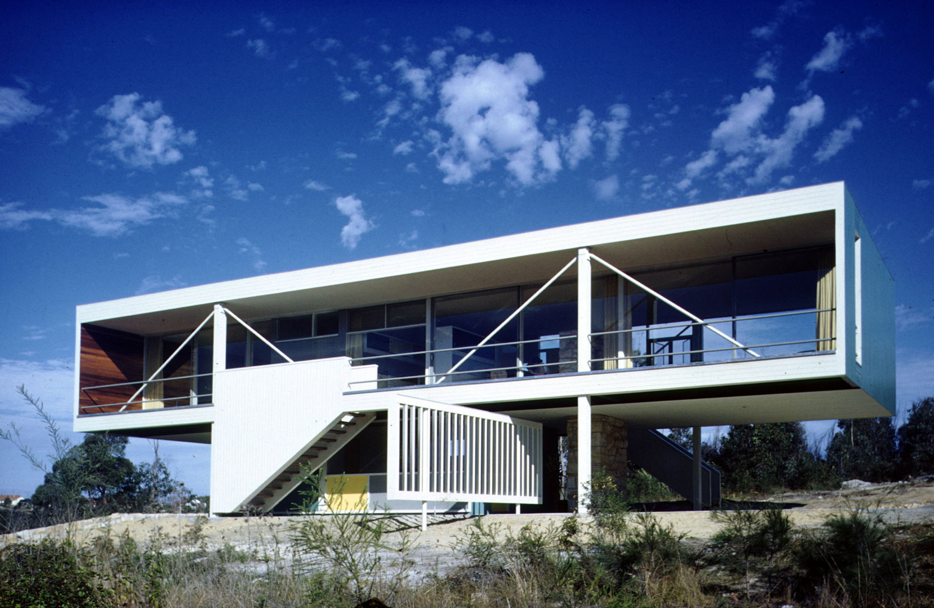 Harry seidler associates rose house for Architecture design company in australia