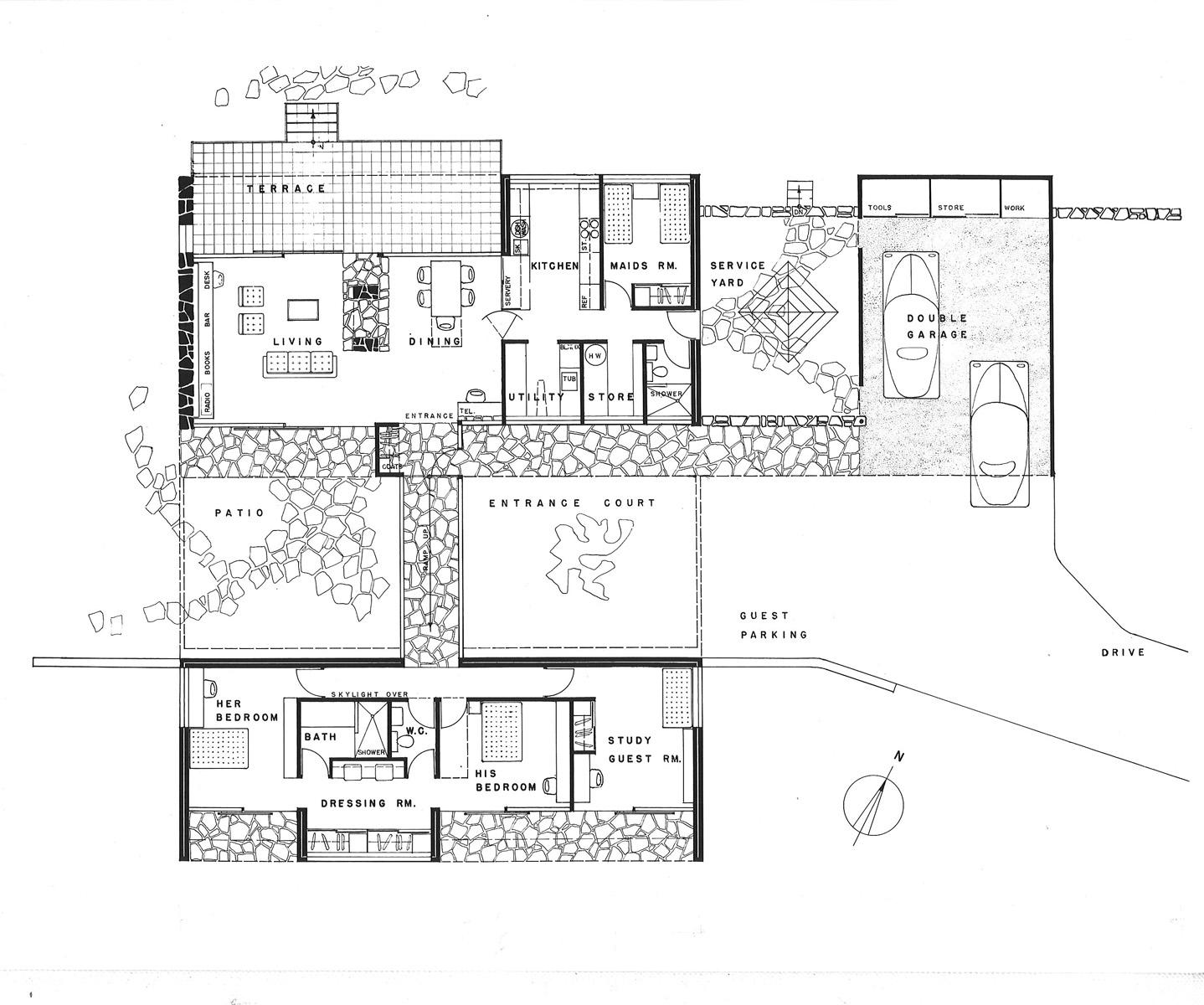 Harry Seidler Amp Associates Hutter House