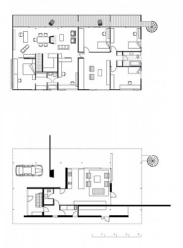 Harry Seidler  amp  Associates  Brian Seidler HouseFloor plans for extension
