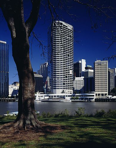 Riverside Centre viewed from across the Brisbane River