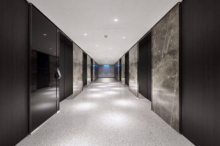 QV1 Tower Refurbished Lift Lobby with DCS
