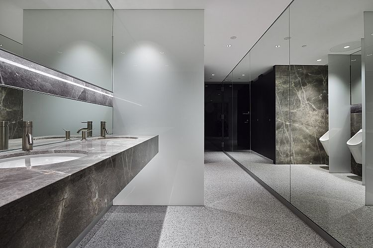 QV1 Tower Male Amenities Refit